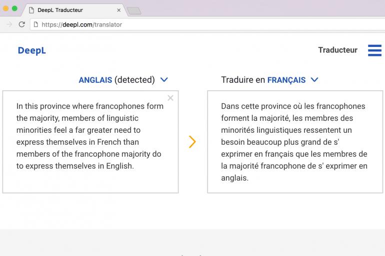 Deepl lance un traducteur annoncé trois fois plus performant que celui de Google