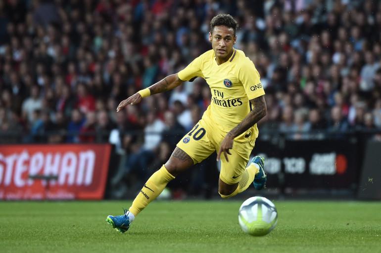 Neymar avec le PSG le 13 août 2017