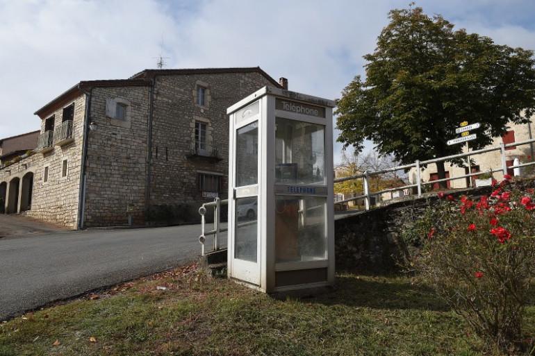 Une cabine téléphonique (illustration)