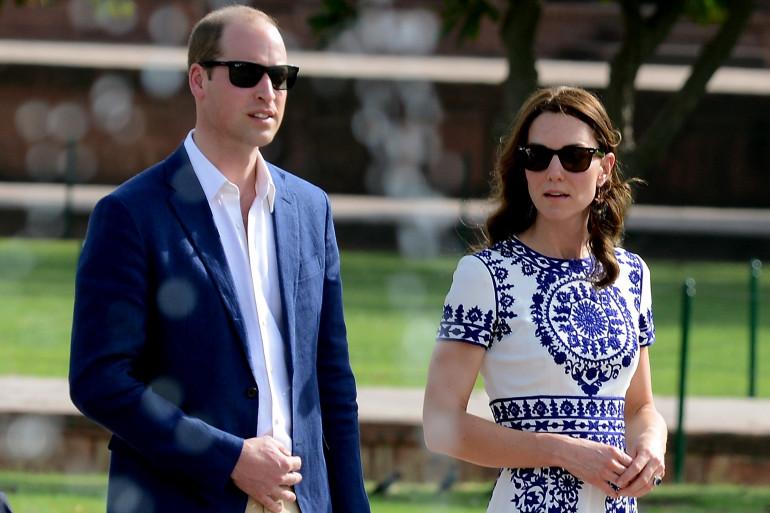 Kate Middleton et le prince William à Paris en mars 2017