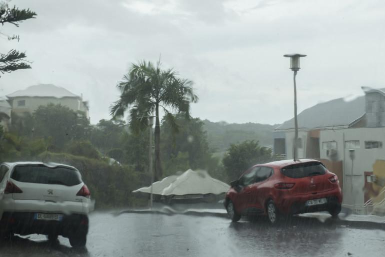 Pointe-à-Pitre menacée par l'ouragan Irma, le 5 septembre 2017