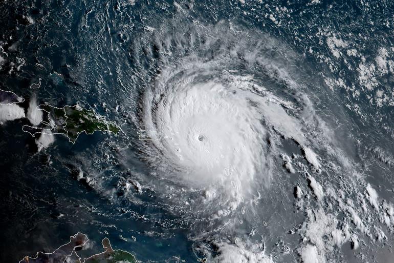 Des images satellites de l'ouragan Irma