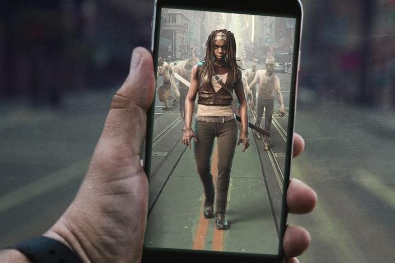 Une application Walking permettra d'affronter des zombies surgissant devant soi à travers l'écran de l'iPhone