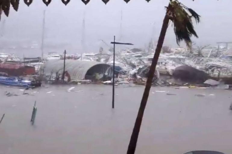 Le passage d'Irma a ravagé 95% de l'Île de Saint-Martin.