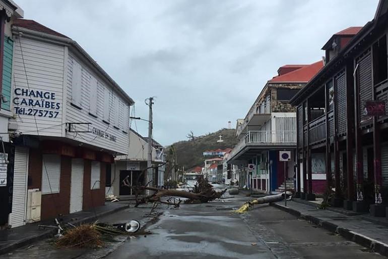 L'ouragan Irma, de force 5, a ravagé les îles de Saint-Martin et Saint-Barthélémy.