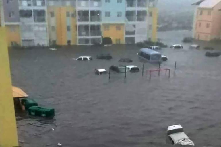 Irma a dévasté à 95% l'île de Saint-Martin