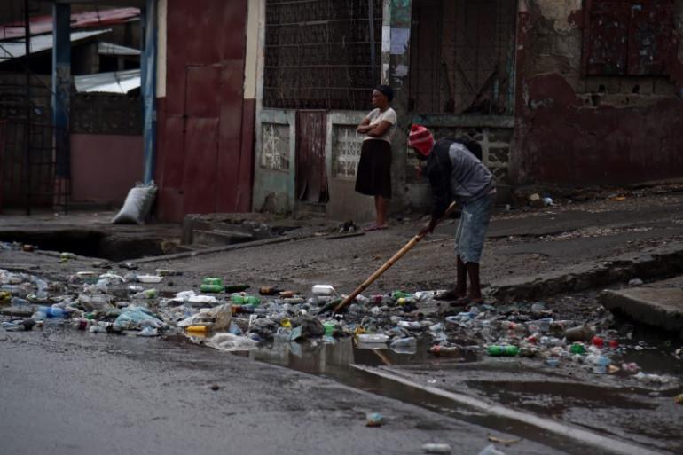 Des pluies torrentielles se sont abattues à Haïti, le 7 septembre 2017