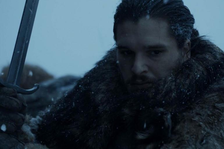 """Jon Snow dans la saison 7 de """"Game of Thrones"""""""