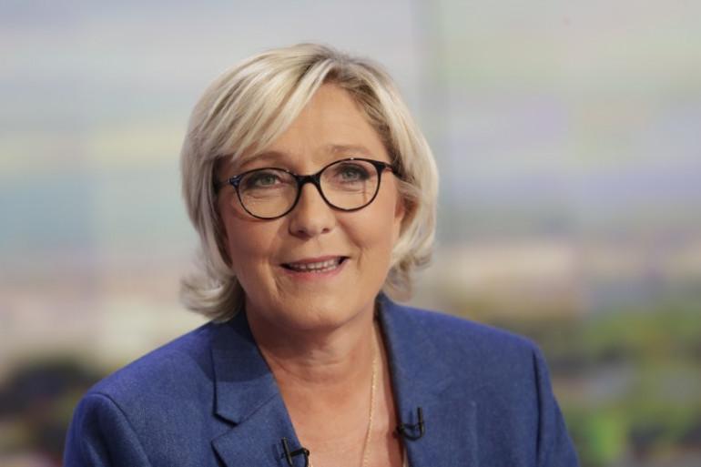 Marine Le Pen sur le plateau de TF1 jeudi 7 septembre