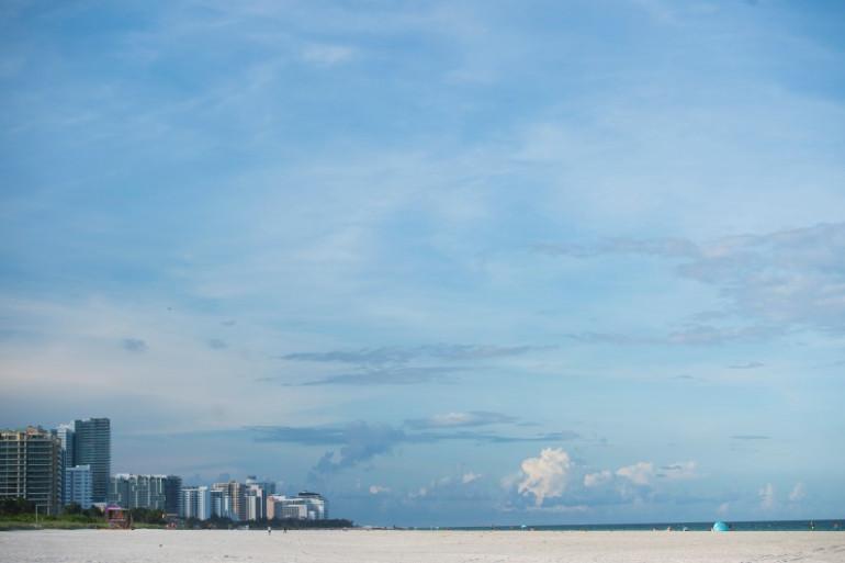 Miami se préparait à subir les foudres de l'ouragan Irma, jeudi 7 septembre 2017