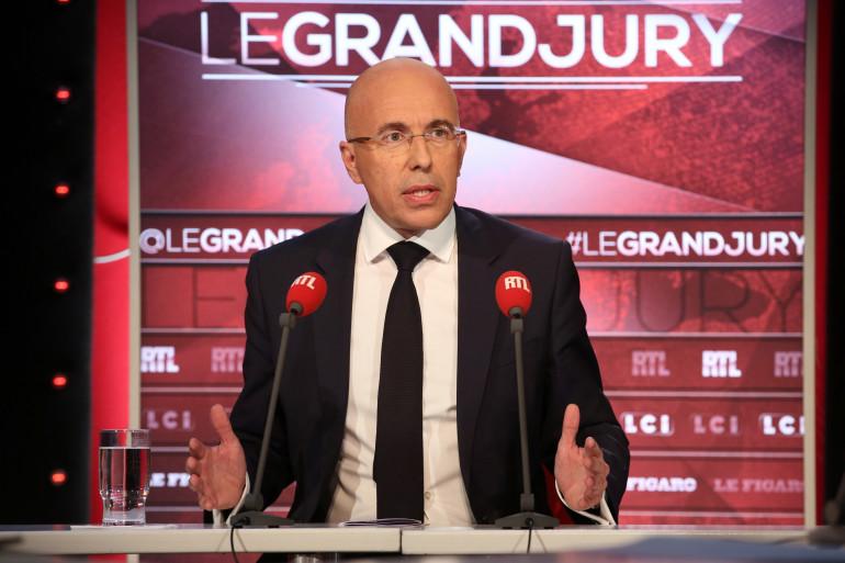 """Éric Ciotti était l'invité du """"Grand Jury"""" dimanche 10 septembre."""