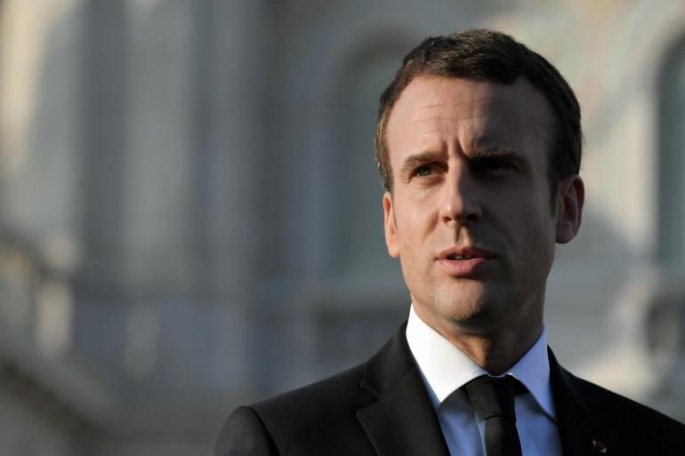 Emmanuel Macron, le 12 juillet 2017 en Italie