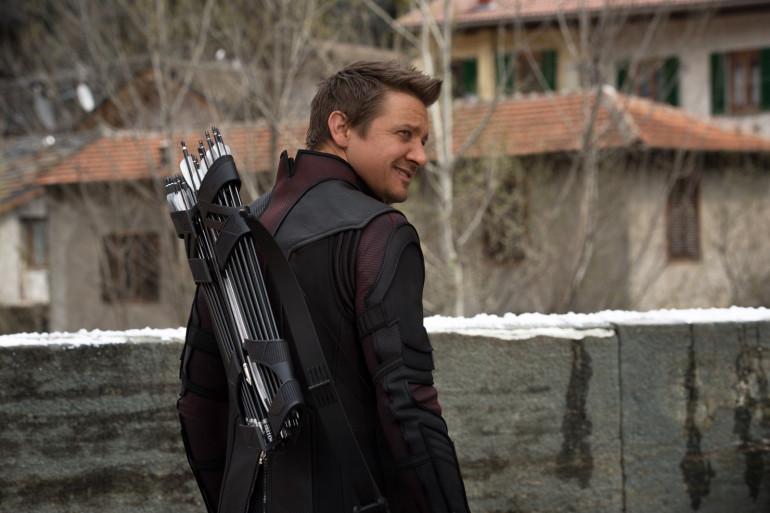 Jeremy Renner incarne Hawkeye dans les films Marvel