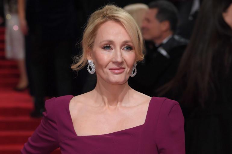 J.K. Rowling lors des Bafta en 2017