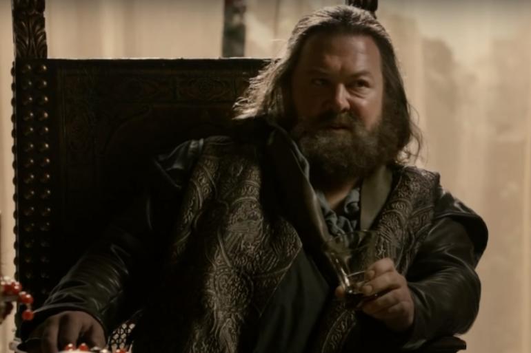 """Robert Baratheon dans la saison 1 de """"Game of Thrones"""""""