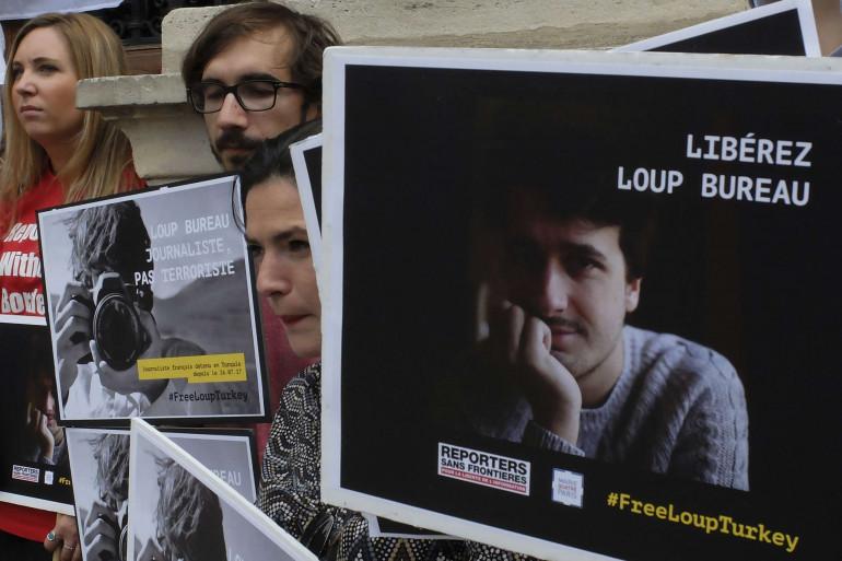 Loup Bureau est détenu en Turquie depuis le 1er août 2017
