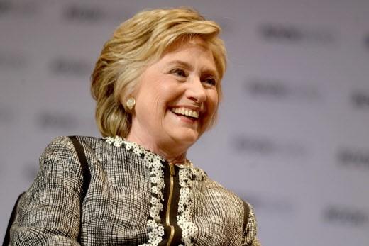 Hillary Clinton à New York le 6 janvier 2017