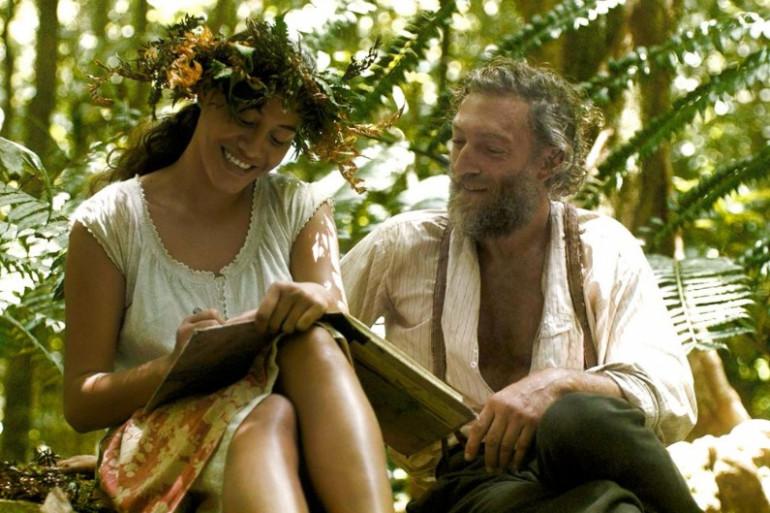 """Tuheï Adams et Vincent Cassel dans """"Gauguin - Voyage de Tahiti"""""""