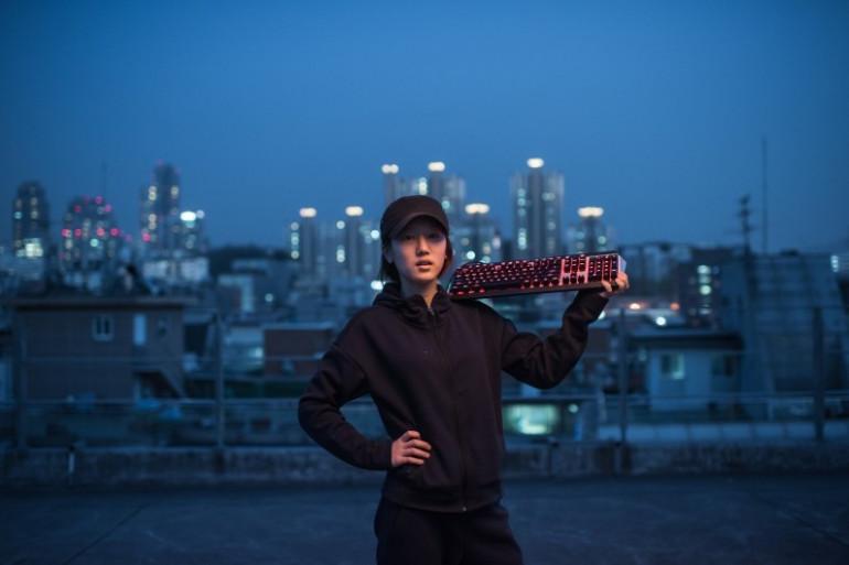 """Ji-Hee Lee fait partie d'une équipe féminine du jeu """"League of Legends"""""""