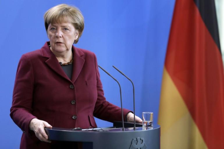 La chancelière Angel Merkel à Berlin (Allemagne) le 29 novembre 2016.