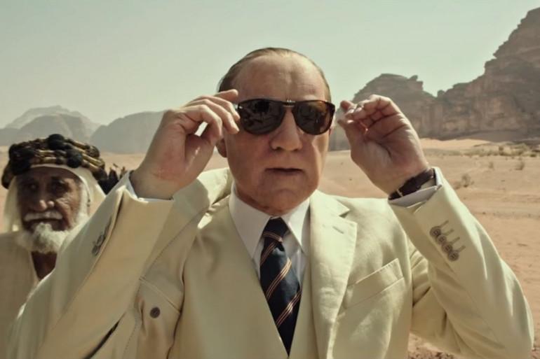 """Kevin Spacey est le richissime J. Paul Getty dans """"Tout l'argent du monde"""""""