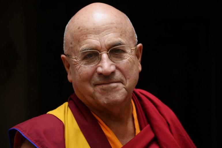 Le moine bouddhiste Matthieu Ricard (Illustration)