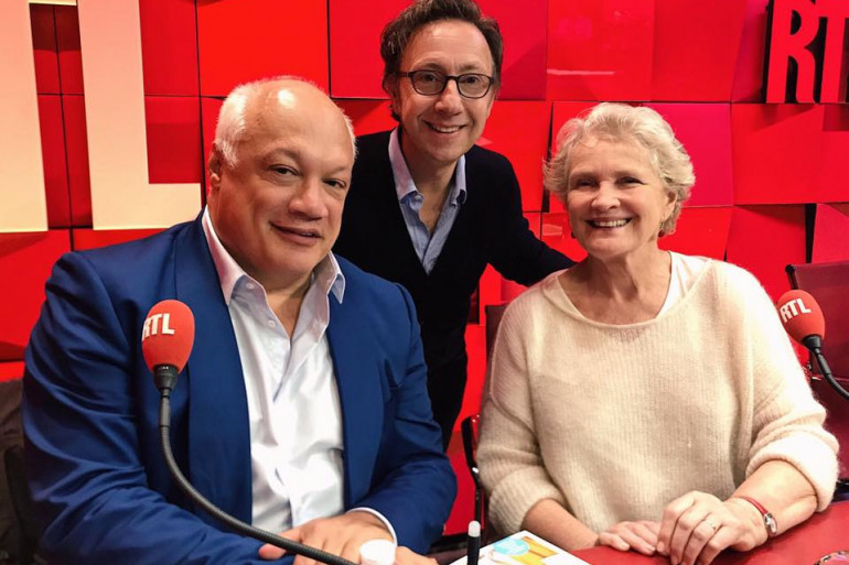 Marie-Christine Barrault, Eric-Emmanuel Schmitt et Stéphane Bern