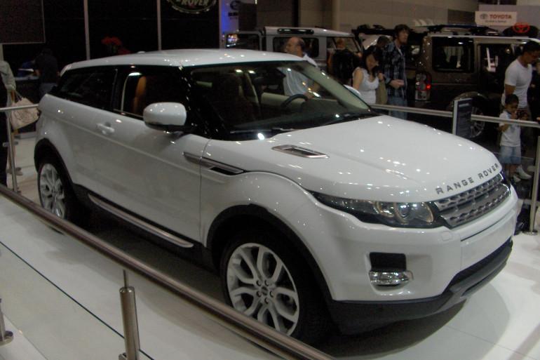 Range rover Evoque, la voiture la plus dérobée en France
