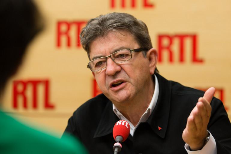 Jean-Luc Mélenchon était l'invité de RTL le 21 septembre 2017