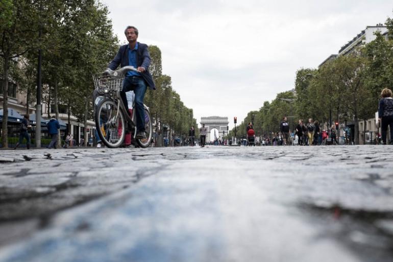 Paris sans voiture, le 25 septembre 2016