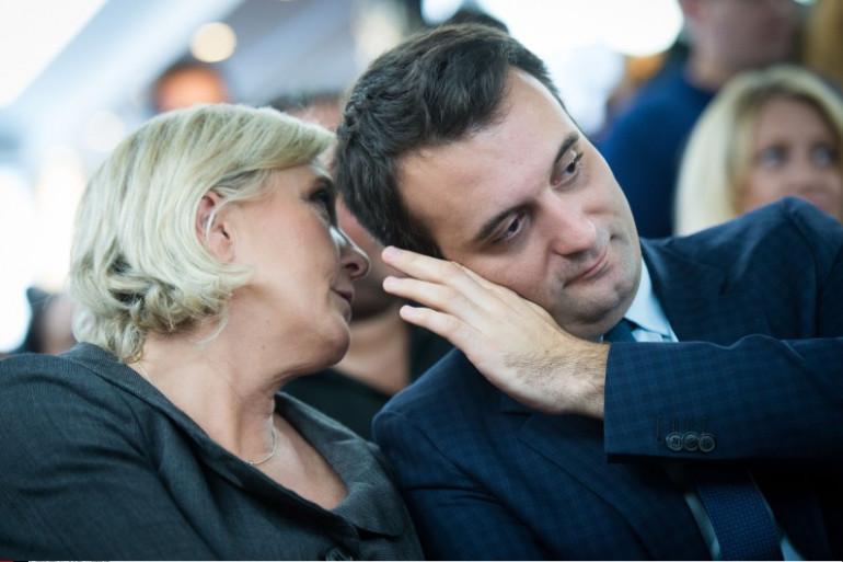 Marine Le Pen et Florian Philippot, le 15 novembre 2016