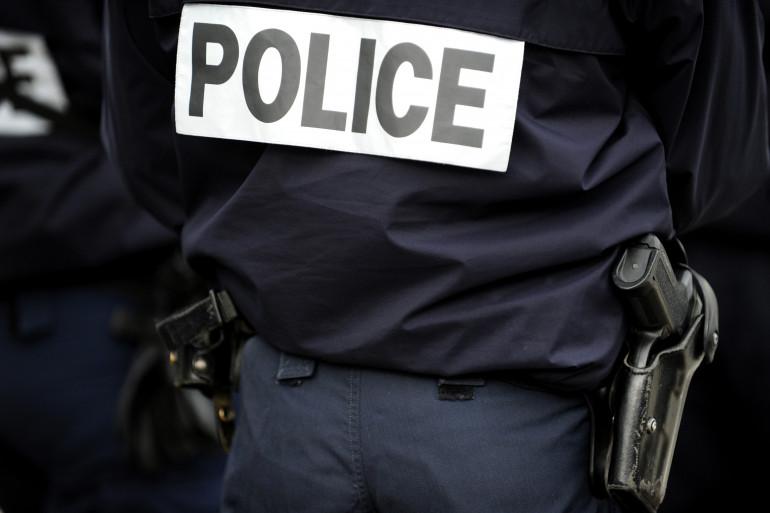 Un officier de police (illustration)