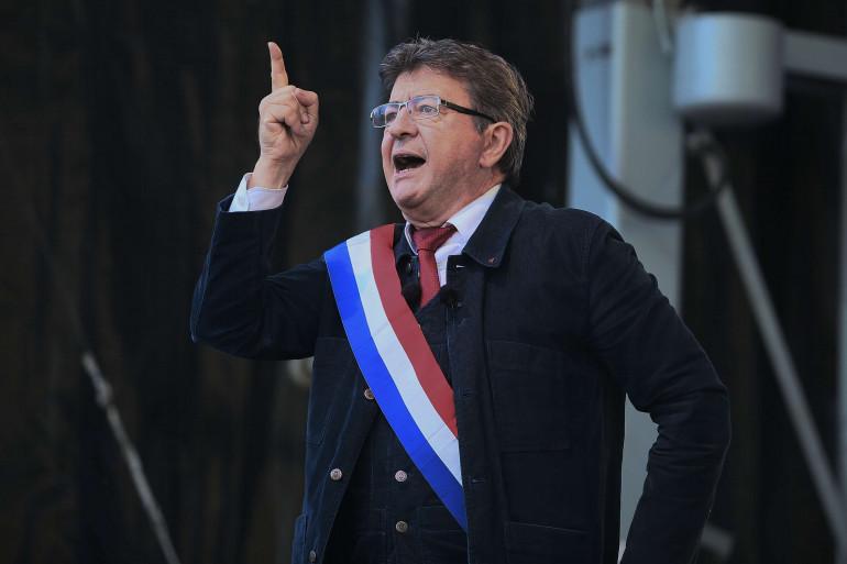 Jean-Luc Mélenchon place de la République, samedi 23 septembre