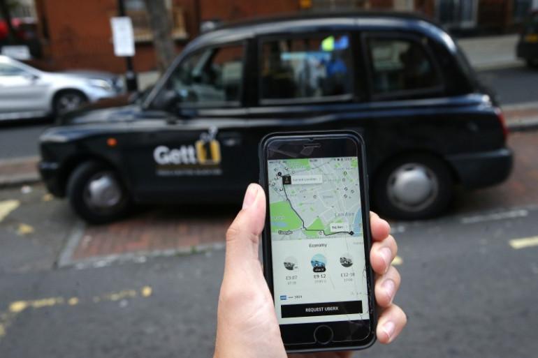 Un véhicule Uber à Londres, le 22 septembre 2017