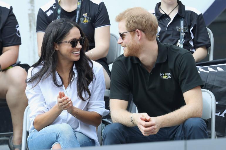 Meghan Markle et le prince Harry, le 25 septembre 2017 aux Invictus Games