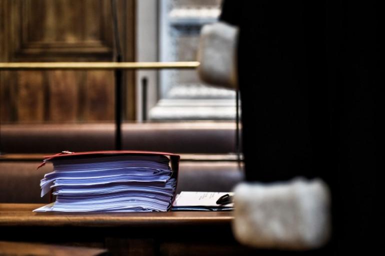 Un avocat dans un tribunal (illustration)