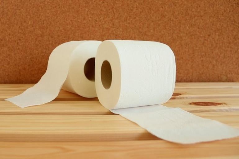 Du papier toilettes (Illustration)