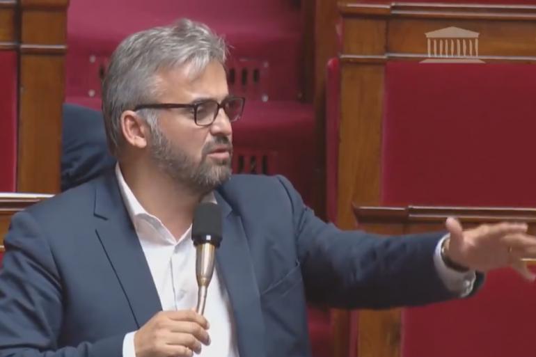 """Alexis Corbière accuse Manuel Valls de """"parler comme le Front national"""""""