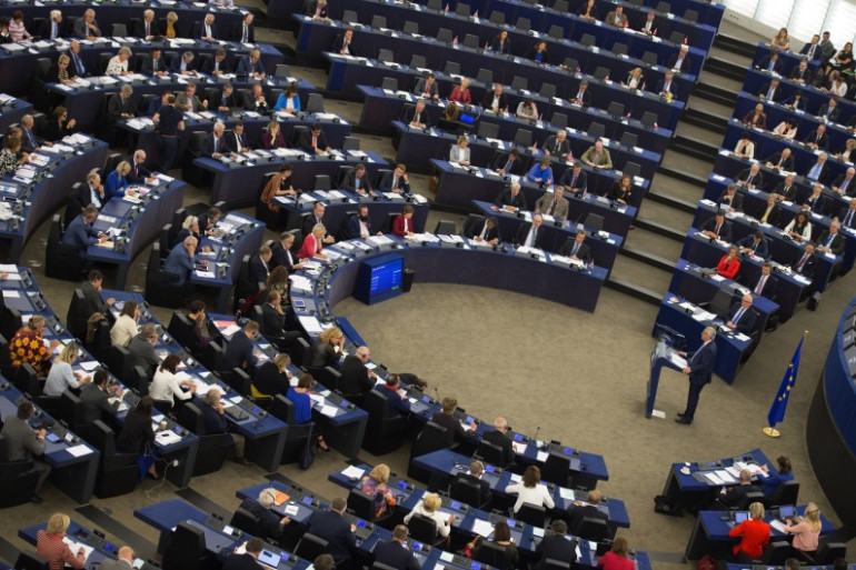 Le Parlement européen en 2017