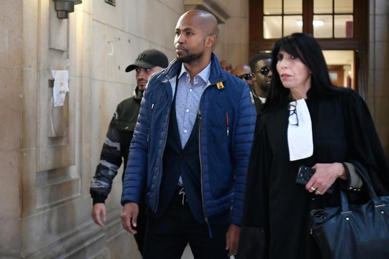 """La rappeur Rohff, jugé pour """"violences aggravées"""", le 29 septembre 2017 au Palais de justice de Paris"""