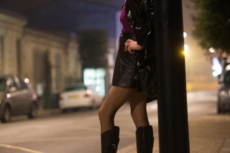 Une prostituée. (Illustration)