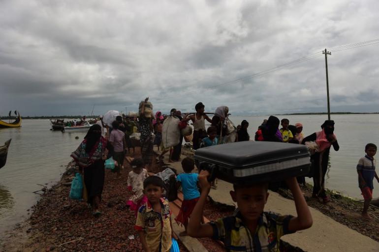 En Birmanie, près de 580.000 Rohingyas ont fui la Birmanie depuis août 2017.