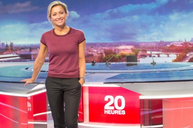 """Anne-Sophie Lapix àa la tête du """"20 Heures"""" de France 2"""