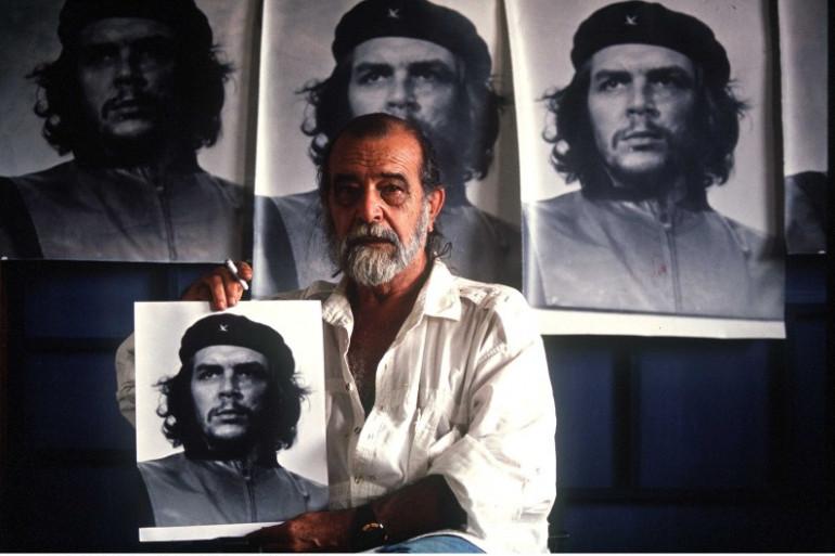 """Alberto Korda a alimenté l'iconographie du """"Che"""" avec sa célèbre photo prise en 1960."""