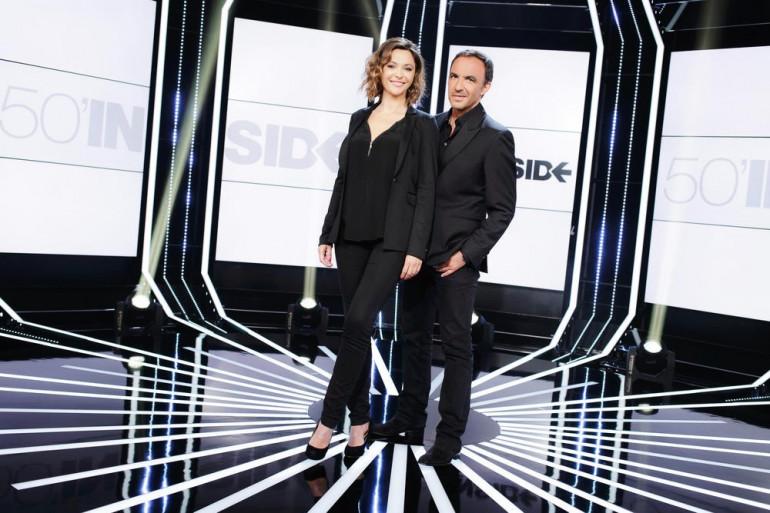"""Sandrine Quétier et Nikos Aliagas coprésentent """"50 minutes inside"""""""