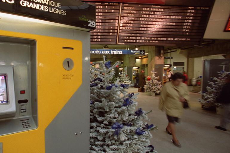 La SNCF a ouvert sa billetterie pour les trains de la période des fêtes