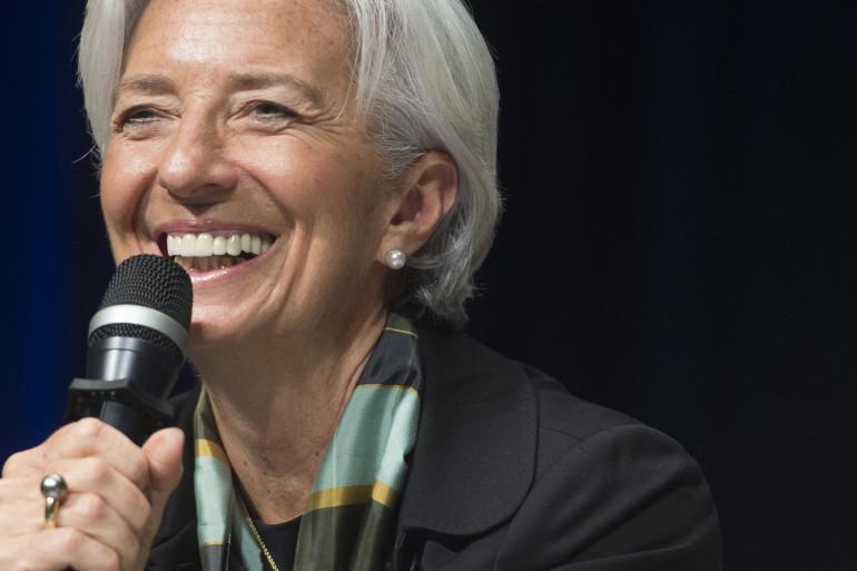 Christine Lagarde, directrice générale du FMI