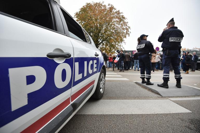 Des agents de police, à Nantes le 26 octobre 2016