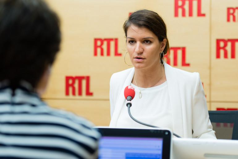 Marlène Schiappa, invitée de RTL le 16 octobre 2017