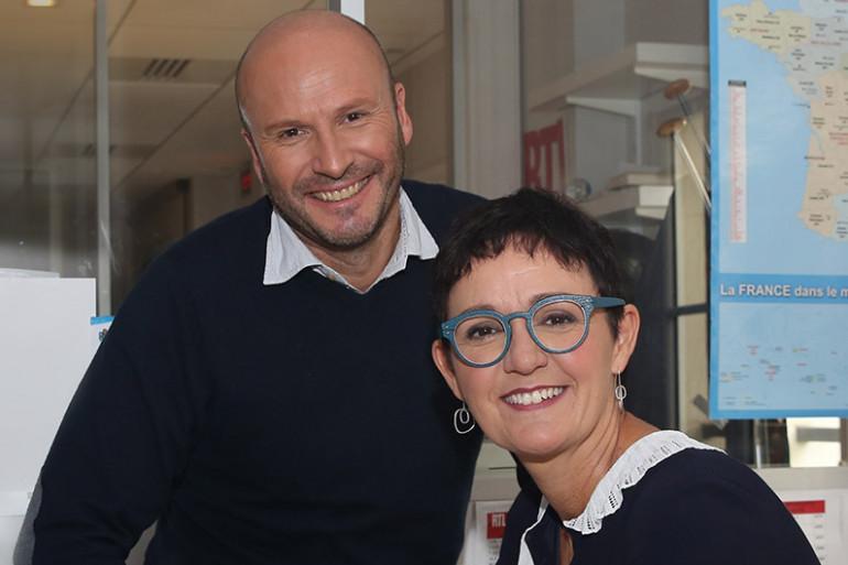 Stéphane Carpentier et Christelle Rebière